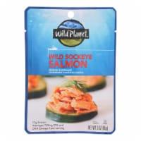Wild Planet - Salmon Wild Sockeye - Case of 24 - 3 OZ - 3 OZ