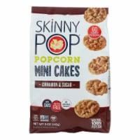 Skinnypop Popcorn - Popcorn Mini Cakes Cin&sugr - Case of 4-5 OZ - 5 OZ