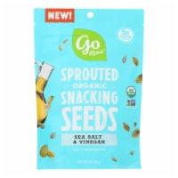Go Raw - Snack Seed Sslt&vngr Sprt - Case of 10 - 4 OZ