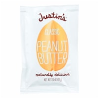 Justin's Nut Butter Squeeze Pack - Peanut Butter - Classic - Case of 10 - 1.15 oz. - Case of 10 - 1.15 OZ each