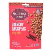 Saffron Road Crunchy Chickpeas - Chipotle - Case of 12 - 6 oz.