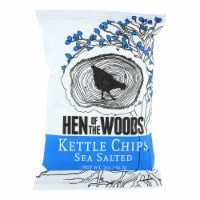 Hen Of The Woods - Chips Kettle Ssalted - Case of 30-2 OZ - 2 OZ
