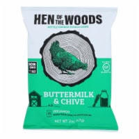Hen Of The Woods -  Buttermilk Chive Kettle Chips - Case of 30 - 2 oz - 2 OZ