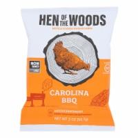 Hen Of The Woods - Carolina BBQ Gluten Free Kettle Chips - Case of 30 - 2 oz - 2 OZ