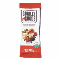Gorilly Goods Trail, Nut And Goji And Cacao Nib  - Case of 12 - 1.30 OZ - 1.30 OZ