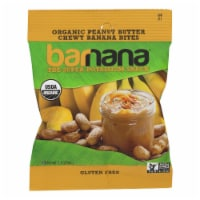 Barnana Organic Chewy Banana Bites - Peanut Butter - Case of 12 - 1.4 oz