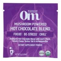Om - Hot Chocolate Mushroom Pwdr - 1 Each 1-10 CT - Case of 10 - .21 OZ each
