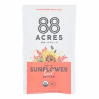 88 Acres - Seed Butter - Organic Maple Sunflower - Case of 10 - 1.16 oz. - Case of 10 - 1.16 OZ each