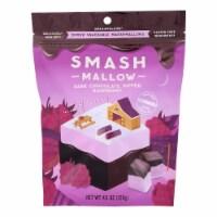 Smashmallow - Marshmallow Snack Dark Chocolate Raspberry - Case of 10-4.5 OZ - Case of 10 - 4.5 OZ each