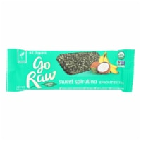 Go Raw - Organic Sprouted Bar - Sweet Spirulina - Case of 10 - 0.493 oz. - Case of 10 - .493 OZ each