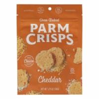 Parm Crisps - Parm Crisps Cheddar - Case of 12 - 1.75 OZ - 1.75 OZ