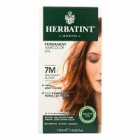 Herbatint Permanent Herbal Haircolour Gel 7M Mahogany Blonde - 135 ml - 1