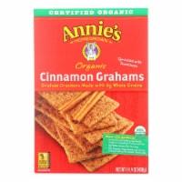 Annie's Homegrown Organic Cinnamon Graham Crackers - Case of 12 - 14.4 oz. - Case of 12 - 14.4 OZ each