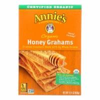 Annie's Homegrown Organic Honey Graham Crackers - Case of 12 - 14.4 oz. - Case of 12 - 14.4 OZ each