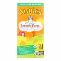 Annie's Homegrown Bernie's Farm Macaroni and Cheese Shapes - Case of 12 - 6 oz. - Case of 12 - 6 OZ each