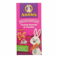 Annies Macaroni and Cheese - Organic - Bunny Pasta with Yummy Cheese - 6 oz - case of 12 - Case of 12 - 6 OZ each