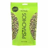Wonderful Pistachios Roasted & Salted Pistachios - Case of 12 - 12 OZ - 12 OZ