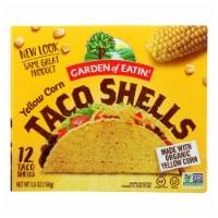 Garden of Eatin' Yellow Corn Taco Shells - Taco Shells - Case of 12 - 5.5 oz.