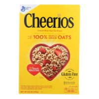 General Mills Cereal Whole Grain Oat  - Case of 12 - 8.9 OZ