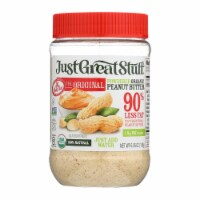 Just Great Stuff Powdered Peanut Butter - 6.43 oz - Case of 12 - Case of 12 - 6.35 OZ each
