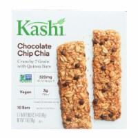 Kashi Chocolate Chip Chia Crunchy Granola and Seed Bars - Case of 12 - 7 oz. - Case of 12 - 7 OZ each