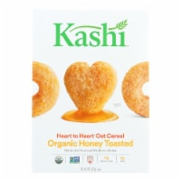 Kashi Cereal - Oat - Heart to Heart - Honey Toasted - 12 oz - case of 12 - Case of 12 - 12 OZ each