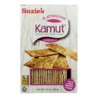 Suzie's Flat Bread - Rosemary Kamut - Case of 12 - 4.5 oz. - Case of 12 - 4.5 OZ each