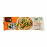 Organic Planet Traditional Whole Wheat Udon Oriental Noodles - Case of 12 - 8 oz. - Case of 12 - 8 OZ each