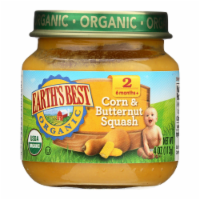 Earth's Best - Stage 2 Crn Butternut Squash- Case of 10-4 OZ