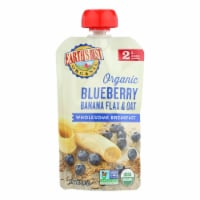 Earth's Best Organic Wholesome Breakfast Blueberry Banana Pouch - Case of 12 - 4 oz. - Case of 12 - 4 OZ each