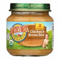 Earth's Best - Dinnr  Chkc&brn Rice - Case of 10-4 OZ