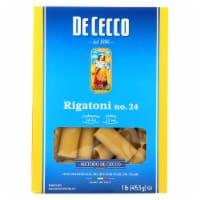 De Cecco Pasta - Pasta - Rigatoni - Case of 12 - 16 oz - Case of 12 - 16 OZ each