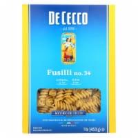 De Cecco Pasta - Pasta - Fusilli - Case of 12 - 16 oz - Case of 12 - 16 OZ each