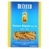 De Cecco Pasta - Pasta - Penne Rigate - Case of 12 - 16 oz - Case of 12 - 16 OZ each