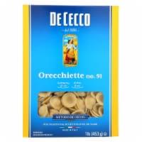 De Cecco Pasta - Pasta - Orecchiette - Case of 12 - 16 oz - Case of 12 - 16 OZ each