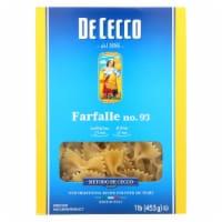 De Cecco Pasta - Pasta - Farfalle - Bowties - Case of 12 - 16 oz