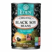 Eden Foods Organic Black Soy Beans - Case of 12 - 15 oz. - Case of 12 - 15 OZ each