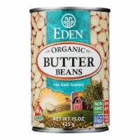 Eden Foods Butter Beans Organic - Case of 12 - 15 oz. - Case of 12 - 15 OZ each