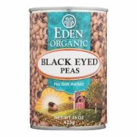 Eden Foods Organic Black Eyed Peas - Case of 12 - 15 oz. - Case of 12 - 15 OZ each