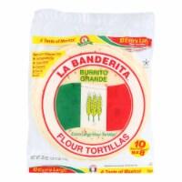 La Banderita Grande Tortilla - Burrito - Case of 12 - 25 oz.