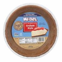 Midel Gluten Free Graham Style Pie Crust - Case of 12 - 7.1 oz. - Case of 12 - 7.1 OZ each
