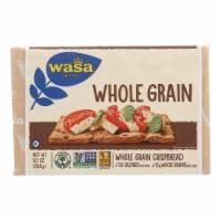 Wasa Crispbread Whole Grain - Flour and Water - Case of 12 - 9.2 oz. - Case of 12 - 9.2 OZ each