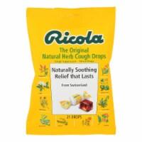 Ricola Herb Throat Drops Original - 21 Drops - Case of 12 - Case of 12 - 21 CT each