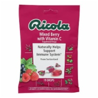 Ricola Cough Drops with Vitamin C - Mixed Berry - Case of 12 - 19 Pack - Case of 12 - 19 CT each