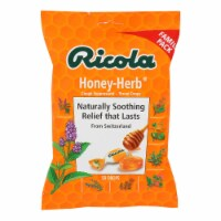Ricola Cough Drops - Honey Herb - Case of 12 - 50 Count - Case of 12 - 50 CT each