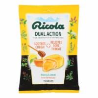 Ricola Cough Drops - Honey Lemon - Case of 12 - 19 Count - Case of 12 - 19 CT each