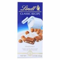 Lindt - Bar Classic Hazelnut - Case of 12-4.4 oz - Case of 12 - 4.4 OZ each