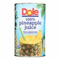 Dole 100% Pineapple Juice - Case of 12 - 46 FZ - Case of 12 - 46 FZ each