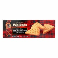 Walkers Shortbread - Pure Butter Triangle - Case of 12 - 5.3 oz. - Case of 12 - 5.3 OZ each