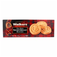 Walkers Shortbread - Pure Butter Round - Case of 12 - 5.3 oz. - Case of 12 - 5.3 OZ each